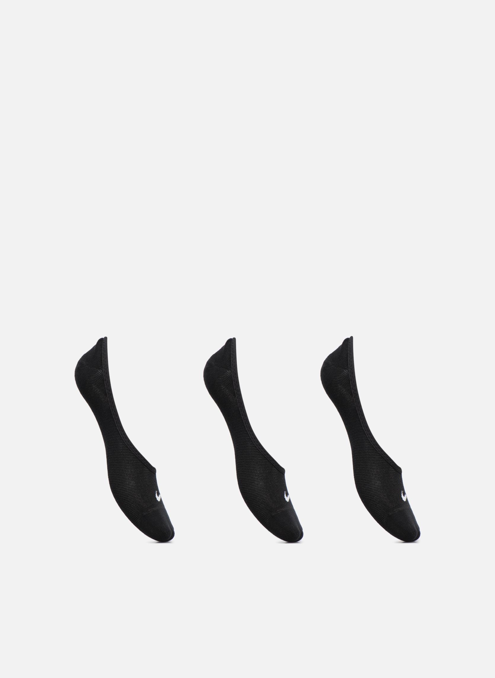 Socken & Strumpfhosen Nike Sportsocken 3PPK WOMEN S LIGHTWEIGHT FOOTI 3er-Pack schwarz detaillierte ansicht/modell