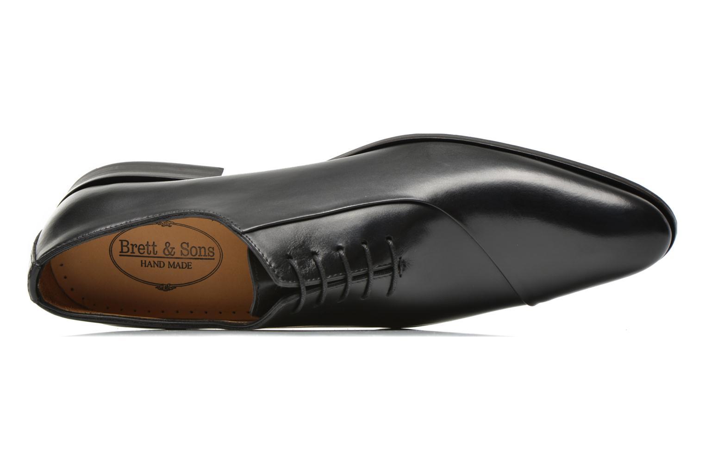 Zapatos con cordones Brett & Sons Raynew Negro vista lateral izquierda