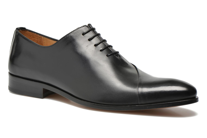 Snøresko Brett & Sons Raynew Sort detaljeret billede af skoene