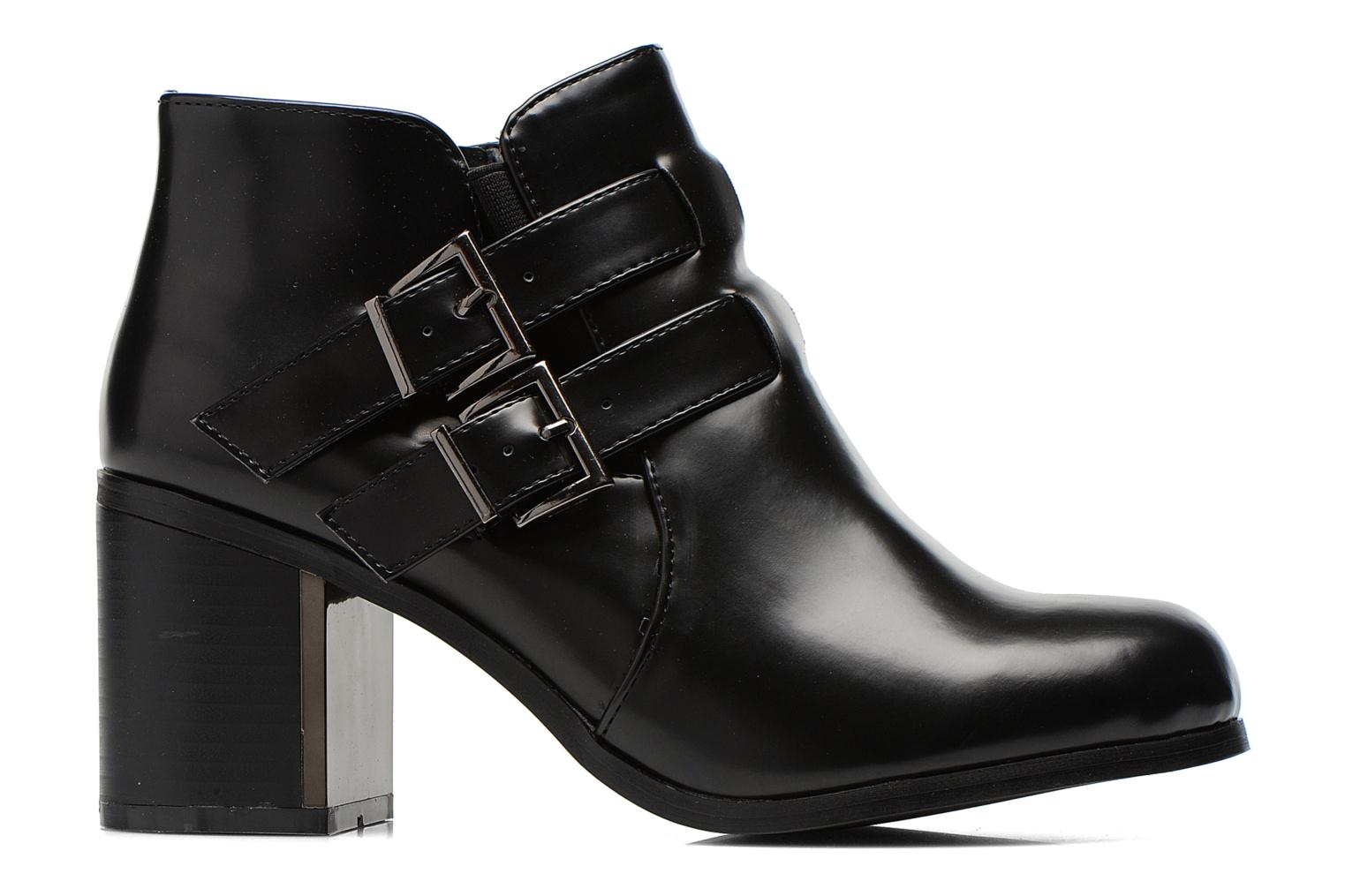 Ankle boots Divine Factory Omine Black back view