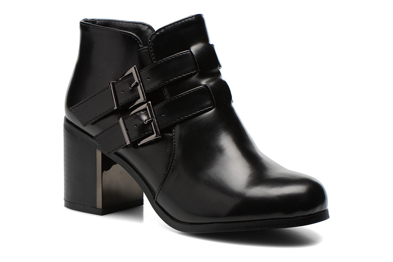 Ankle boots Divine Factory Omine Black detailed view/ Pair view