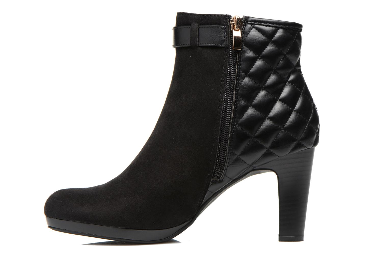 Bottines et boots Divine Factory Biwa Noir vue face