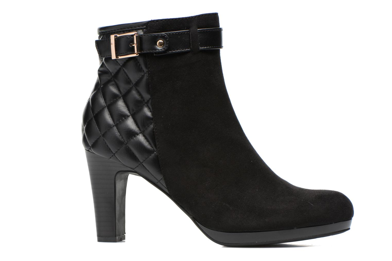 Ankle boots Divine Factory Biwa Black back view