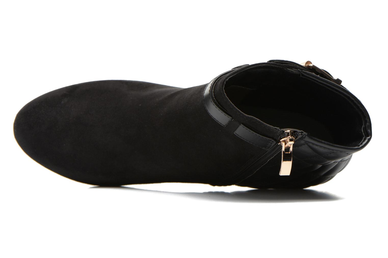 Bottines et boots Divine Factory Biwa Noir vue gauche