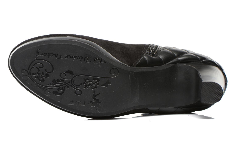 Bottines et boots Divine Factory Biwa Noir vue haut