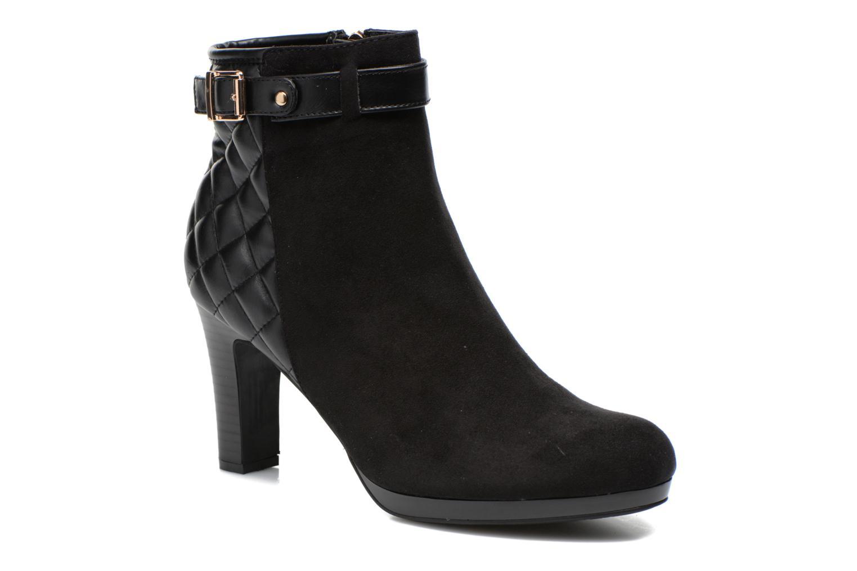 Bottines et boots Divine Factory Biwa Noir vue détail/paire