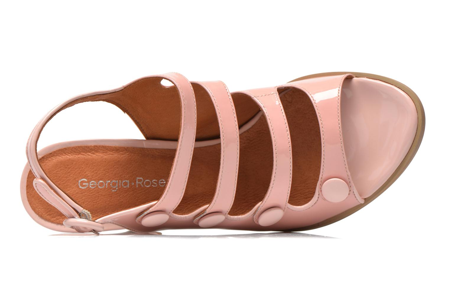 Sandalen Georgia Rose Keel rosa ansicht von links