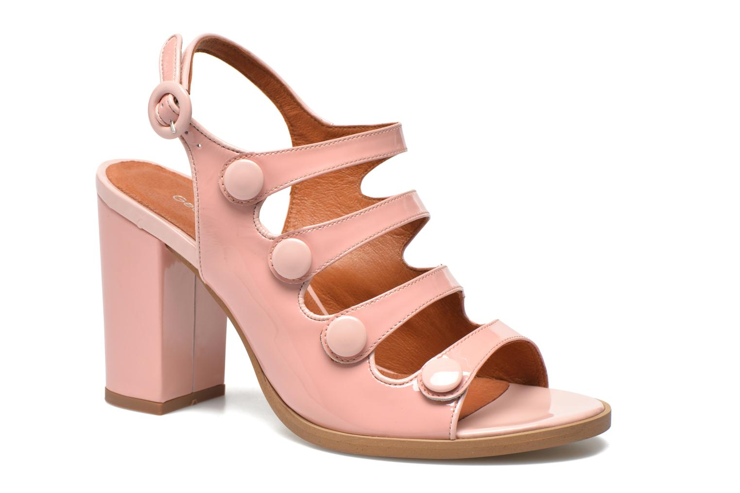 Sandals Georgia Rose Keel Pink detailed view/ Pair view