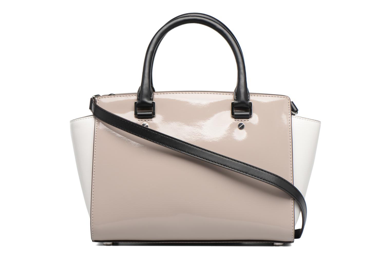 Handbags Michael Michael Kors SELMA MD TZ SATCHEL Grey front view