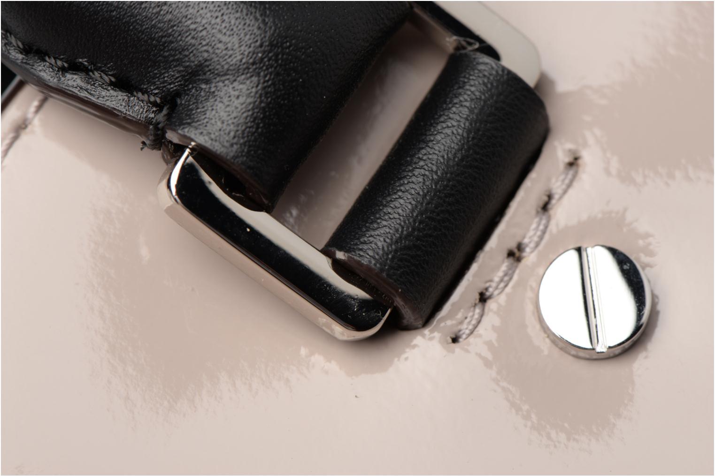 Handtaschen Michael Michael Kors SELMA MD TZ SATCHEL grau ansicht von links