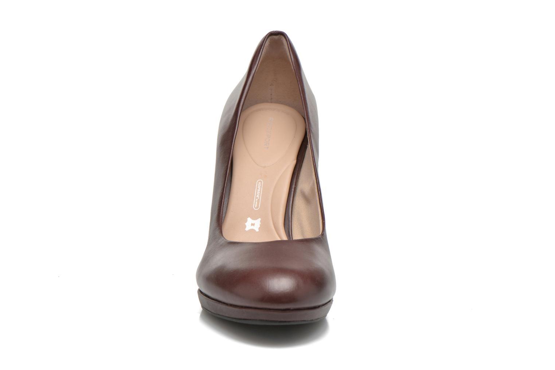 Escarpins Rockport Ally plain pump Bordeaux vue portées chaussures