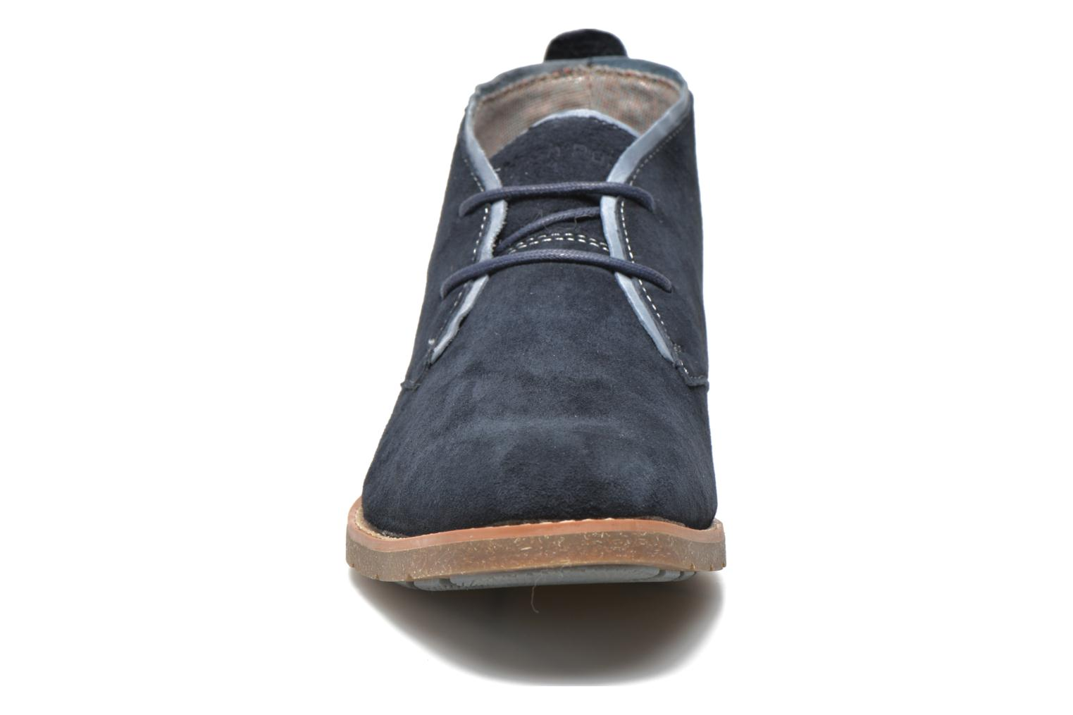 Lace-up shoes Hush Puppies Roland Jester Blue model view