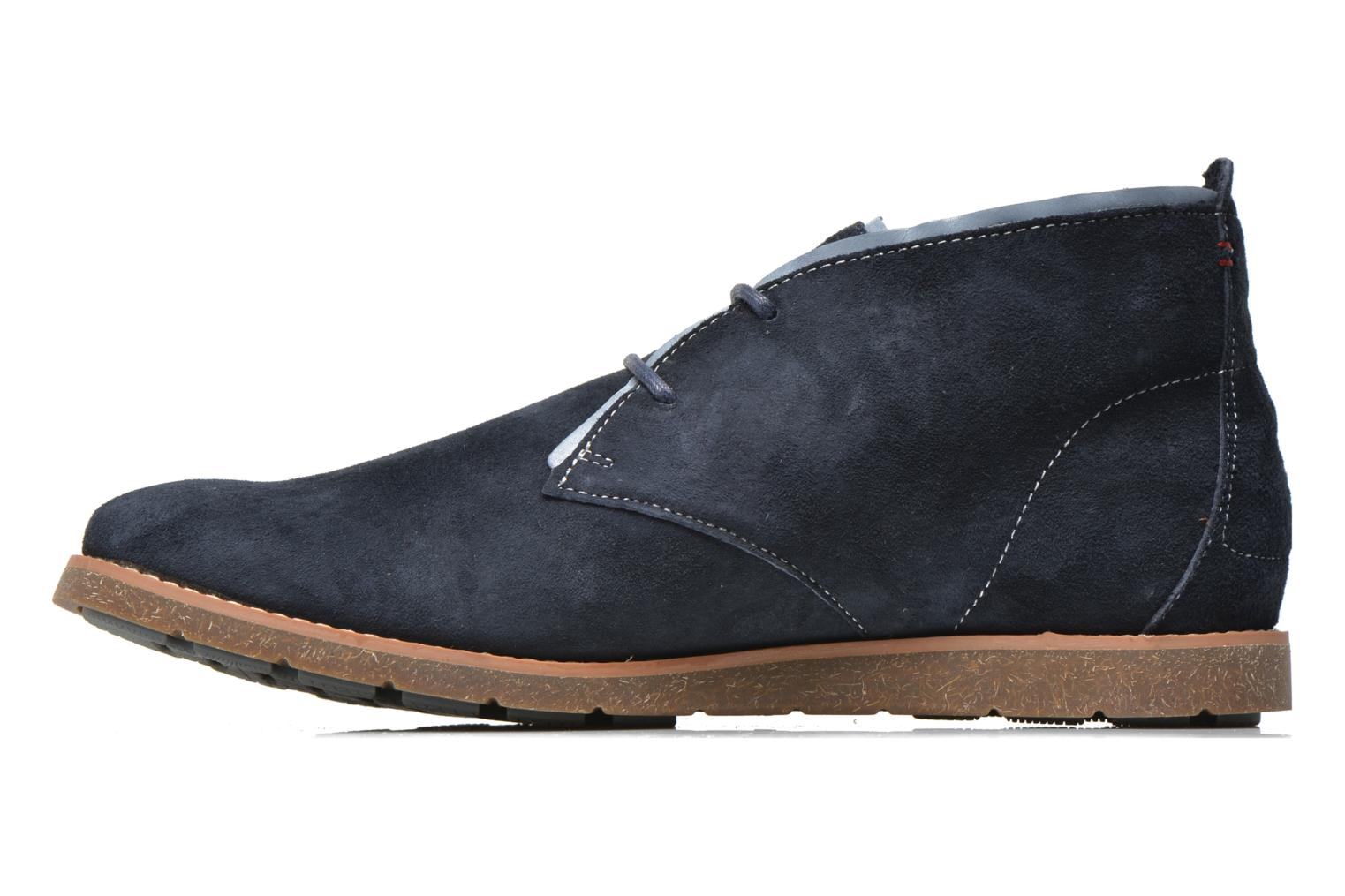 Lace-up shoes Hush Puppies Roland Jester Blue front view
