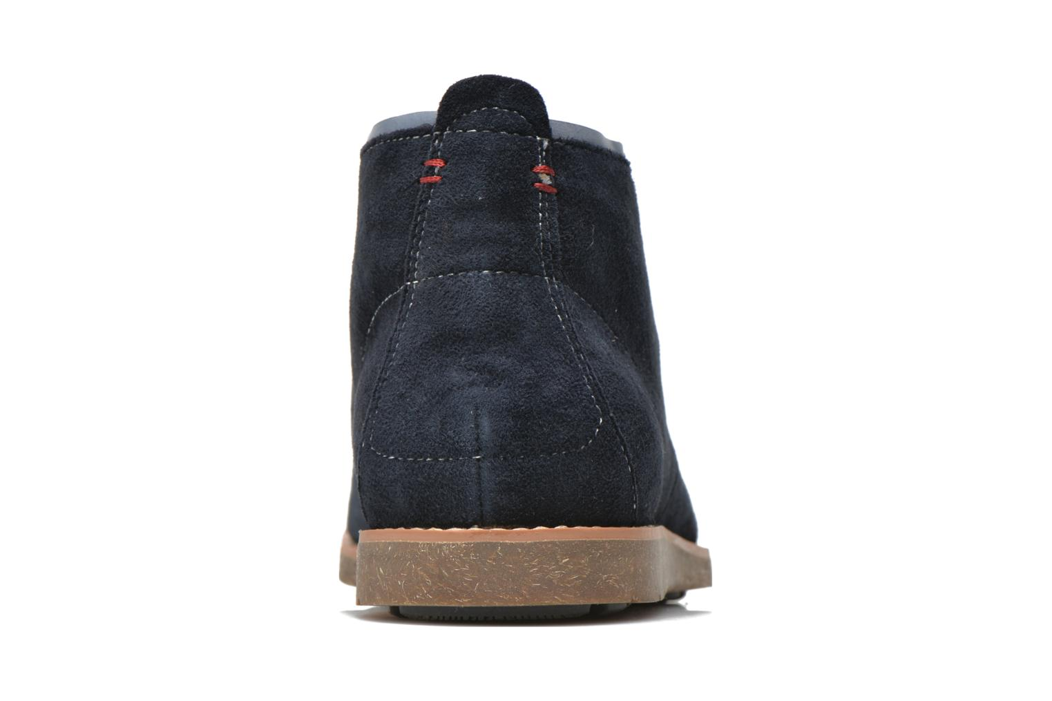Lace-up shoes Hush Puppies Roland Jester Blue view from the right
