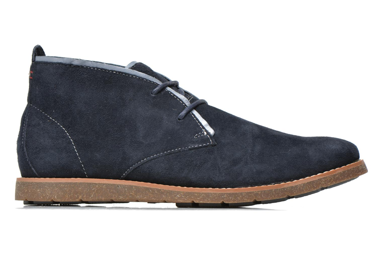Lace-up shoes Hush Puppies Roland Jester Blue back view