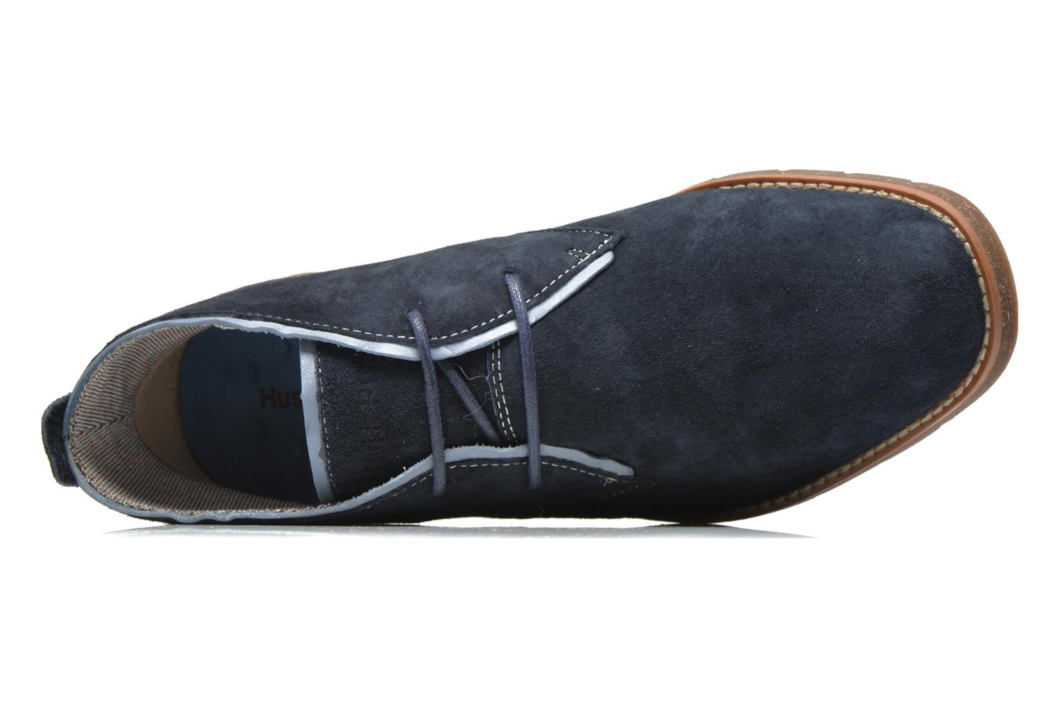 Veterschoenen Hush Puppies Roland Jester Blauw links