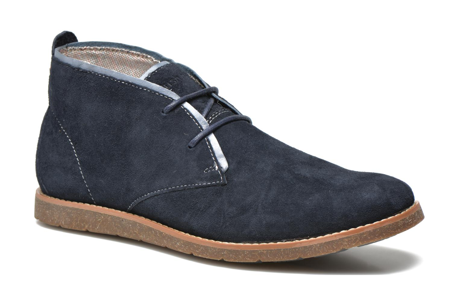 Lace-up shoes Hush Puppies Roland Jester Blue detailed view/ Pair view