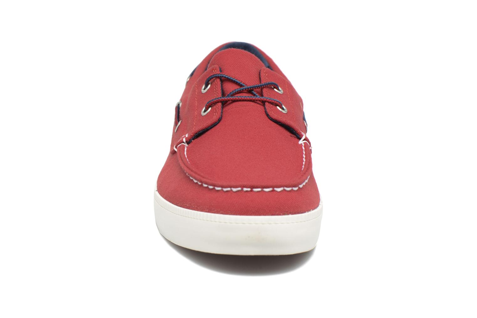 Lace-up shoes Timberland Newport Bay 2 Eye Boat Ox Red model view