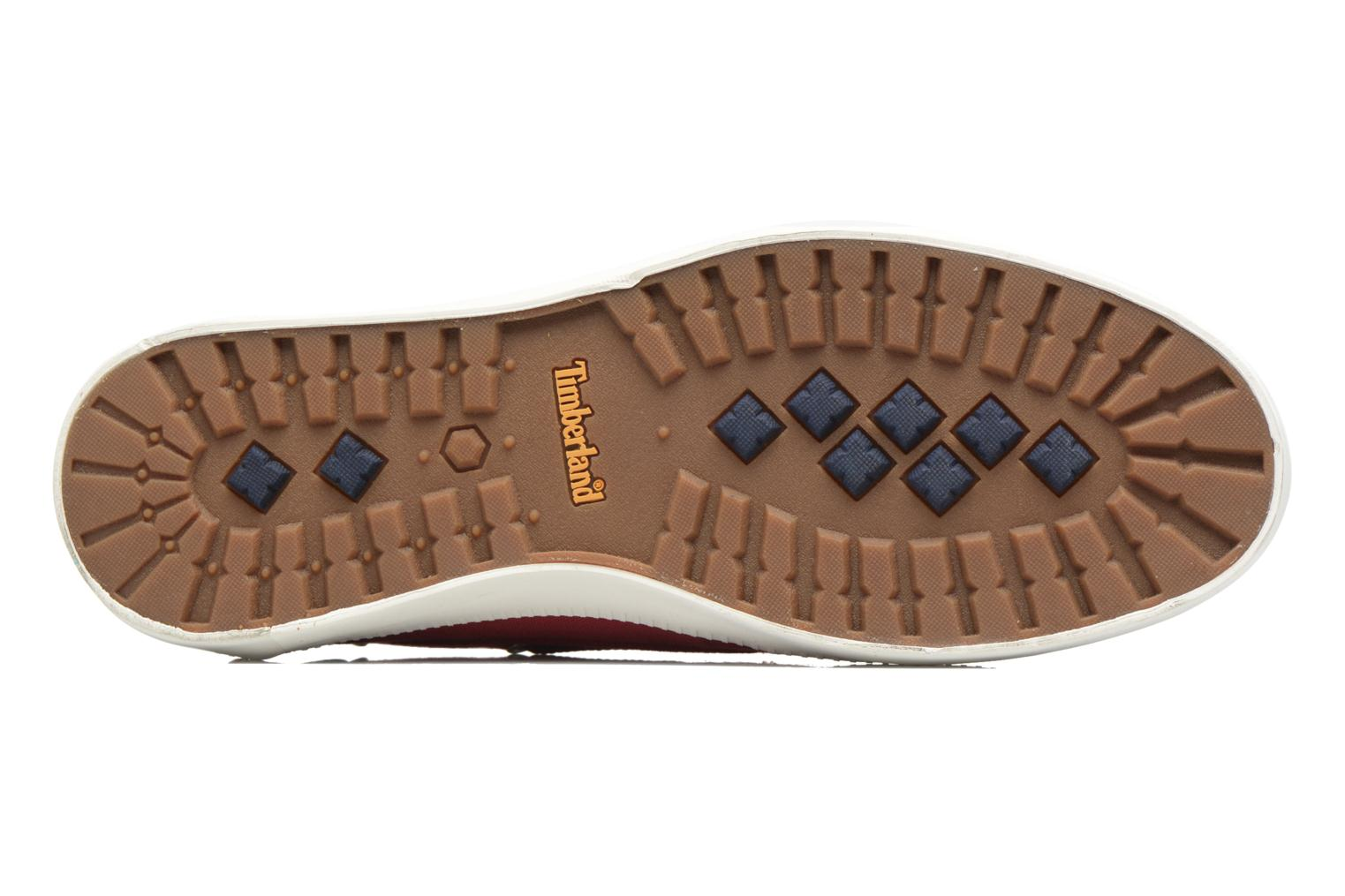 Lace-up shoes Timberland Newport Bay 2 Eye Boat Ox Red view from above
