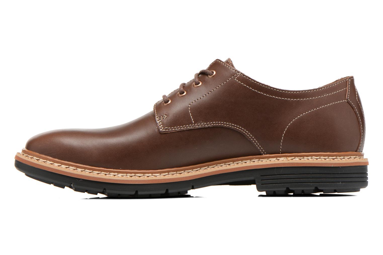 Zapatos con cordones Timberland Naples Trail Oxford Marrón vista de frente