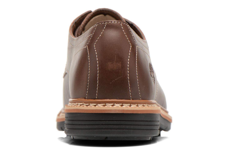 Zapatos con cordones Timberland Naples Trail Oxford Marrón vista lateral derecha
