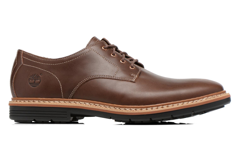 Zapatos con cordones Timberland Naples Trail Oxford Marrón vistra trasera