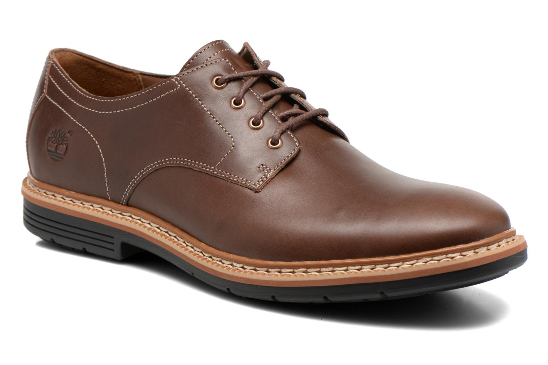Zapatos con cordones Timberland Naples Trail Oxford Marrón vista de detalle / par