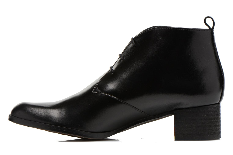 Lace-up shoes Elizabeth Stuart Idis 304 Black front view