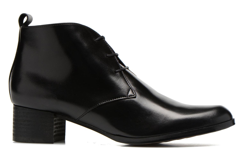 Lace-up shoes Elizabeth Stuart Idis 304 Black back view