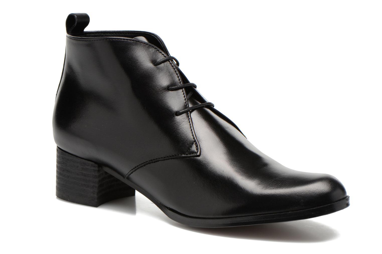 Lace-up shoes Elizabeth Stuart Idis 304 Black detailed view/ Pair view