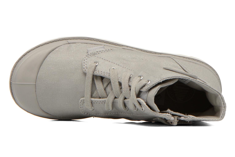 Bottines et boots Palladium Pampa Hi Zip MTL K Gris vue gauche