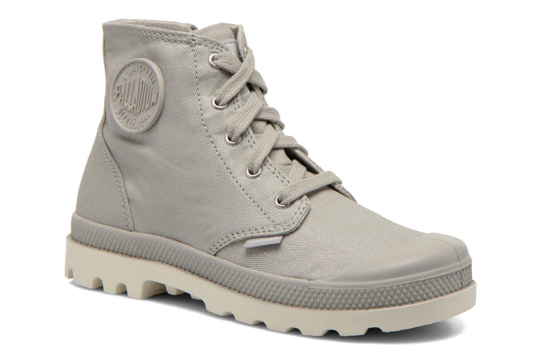Bottines et boots Palladium Pampa Hi Zip MTL K Gris vue détail/paire