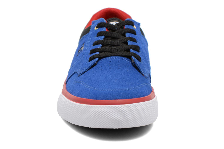 Baskets DC Shoes Argosy Vulc Kids Bleu vue portées chaussures