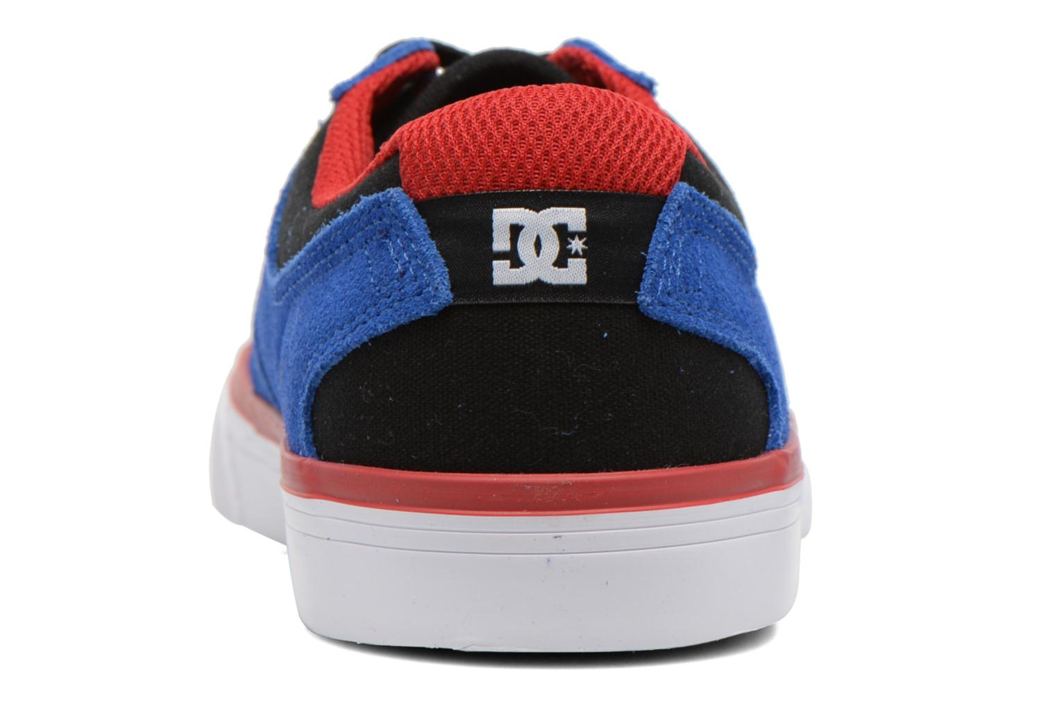 Trainers DC Shoes Argosy Vulc Kids Blue view from the right