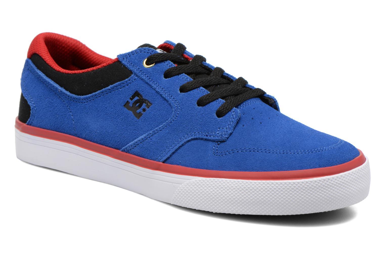 Baskets DC Shoes Argosy Vulc Kids Bleu vue détail/paire