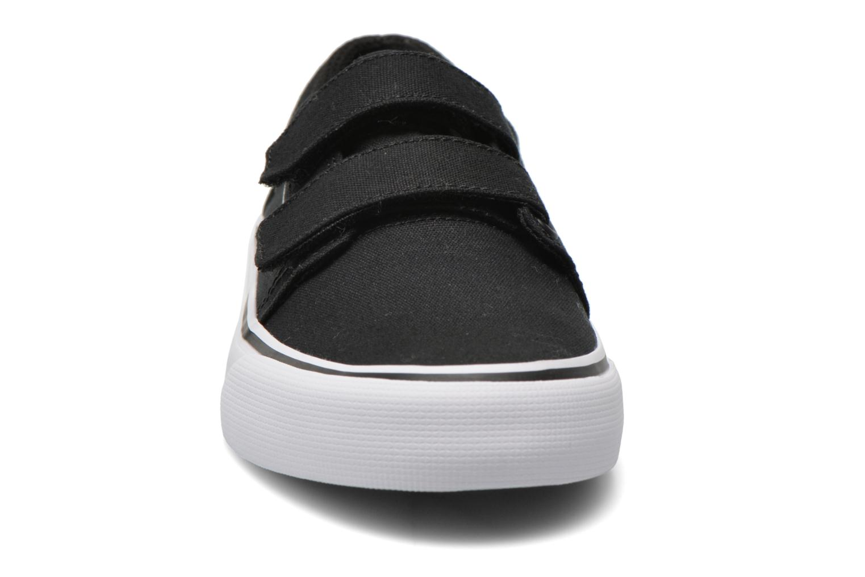 Sneaker DC Shoes Trase V Kids schwarz schuhe getragen