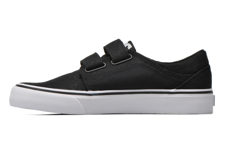 Sneaker DC Shoes Trase V Kids schwarz ansicht von vorne