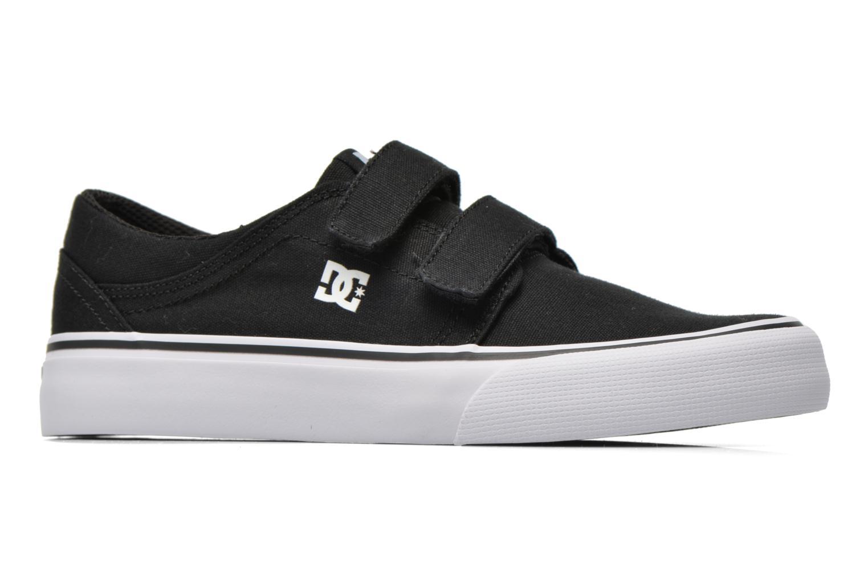 Sneaker DC Shoes Trase V Kids schwarz ansicht von hinten