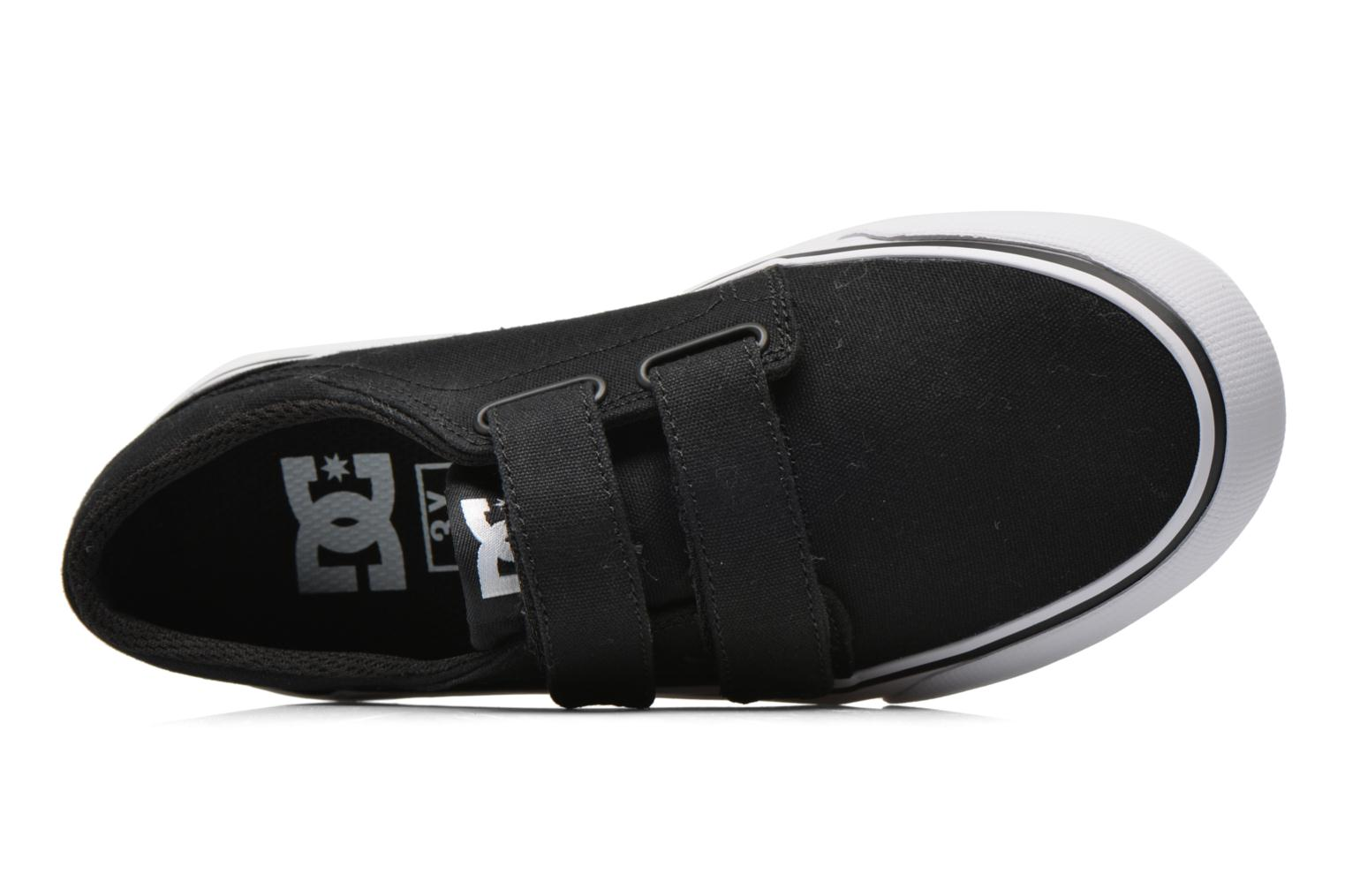 Trainers DC Shoes Trase V Kids Black view from the left