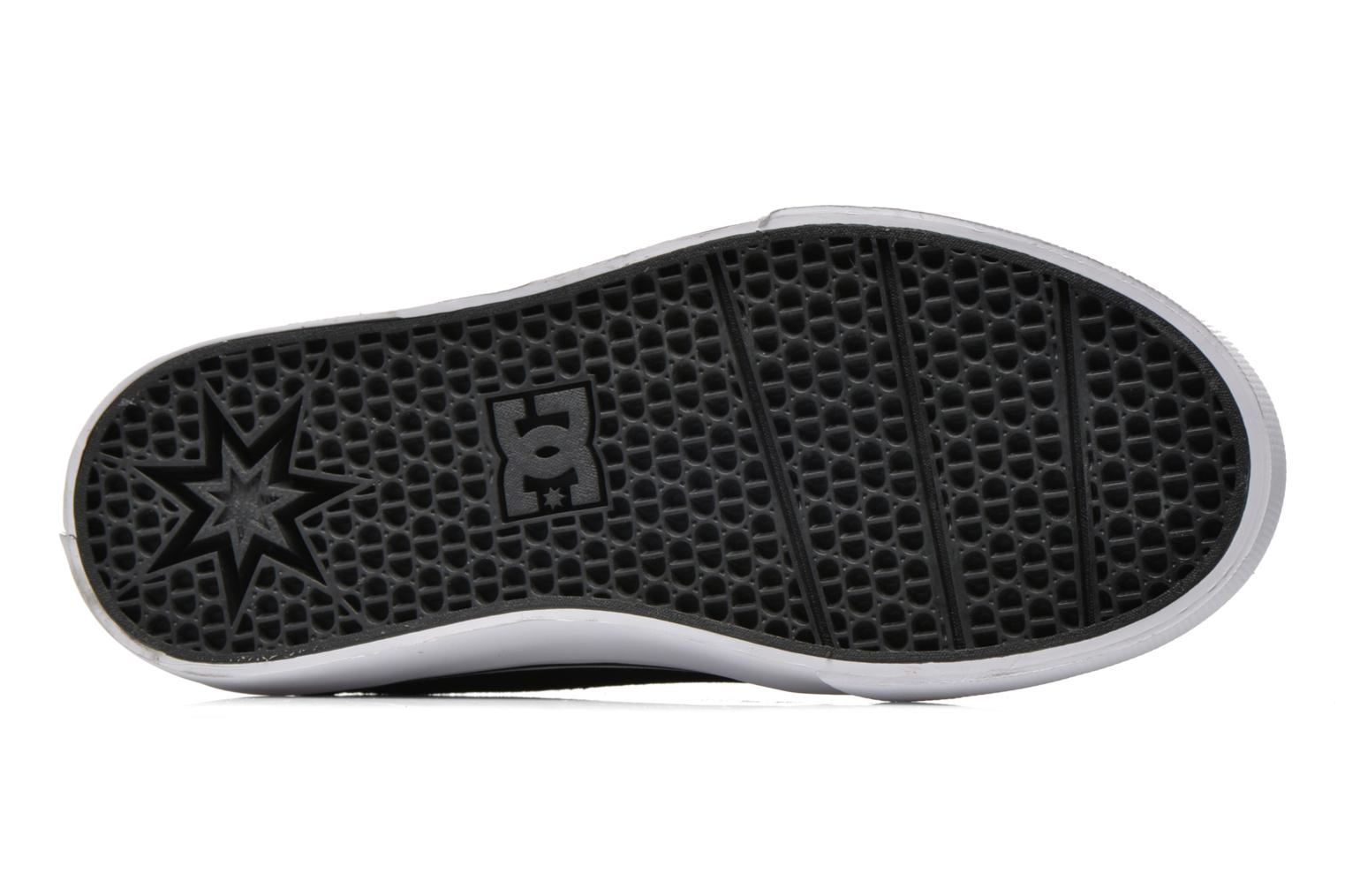 Baskets DC Shoes Trase V Kids Noir vue haut