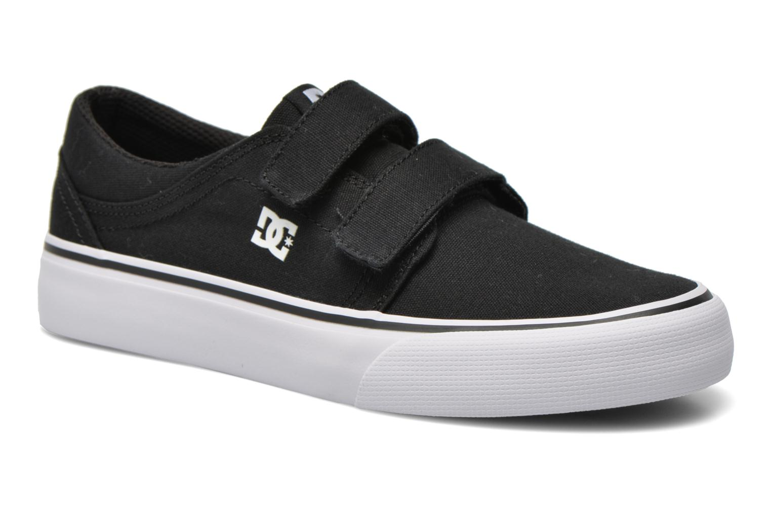 Baskets DC Shoes Trase V Kids Noir vue détail/paire