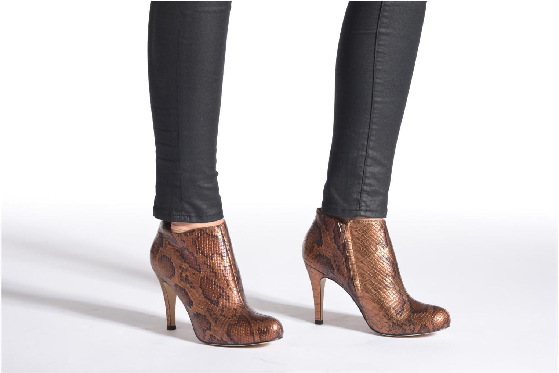 Stiefeletten & Boots Buffalo Emma gold/bronze ansicht von unten / tasche getragen