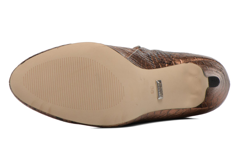 Stiefeletten & Boots Buffalo Emma gold/bronze ansicht von oben