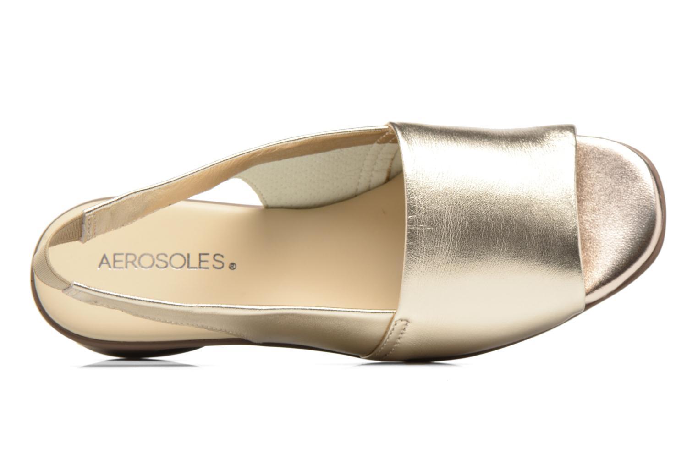 Sandali e scarpe aperte Aerosoles Cush Flow Oro e bronzo immagine sinistra