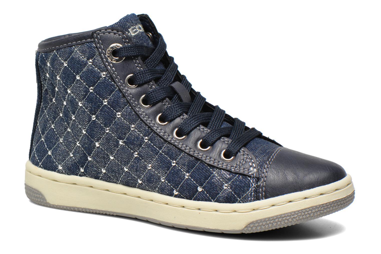 Baskets Geox J Creamy B J54L5B Bleu vue détail/paire