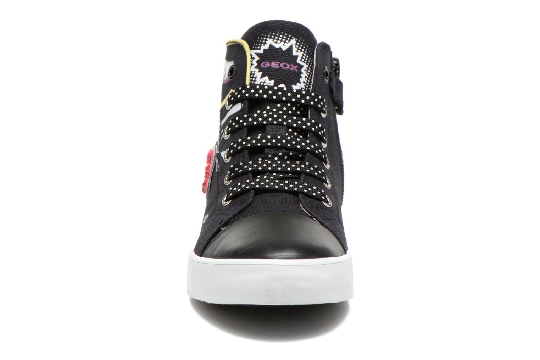 Baskets Geox J Ciak G. A J6204A Noir vue portées chaussures