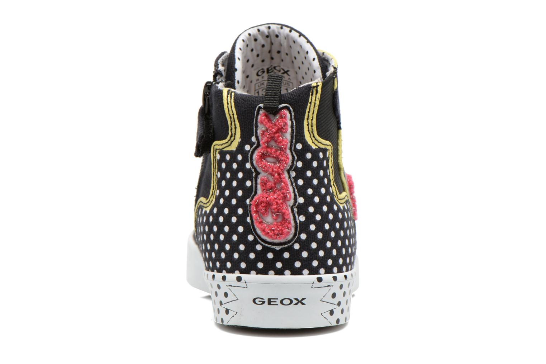 Baskets Geox J Ciak G. A J6204A Noir vue droite