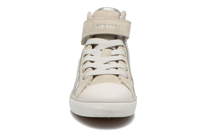 Baskets Geox J Ciak G. G J6204G Beige vue portées chaussures