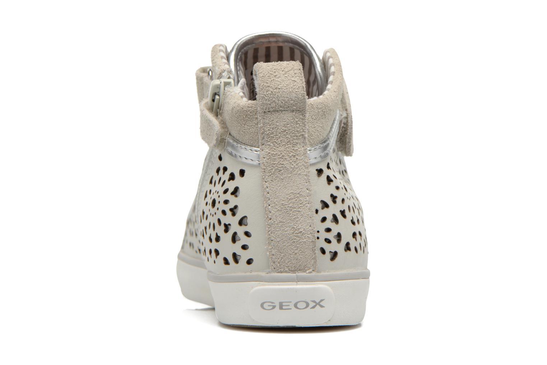 Baskets Geox J Ciak G. G J6204G Beige vue droite