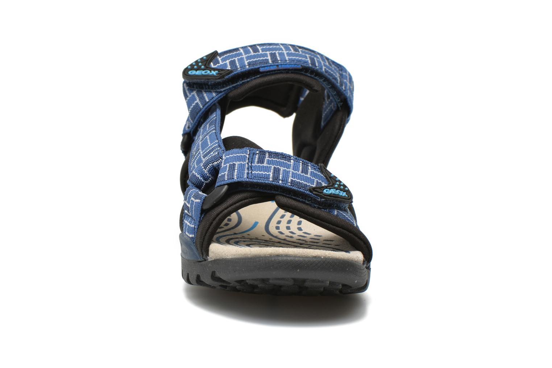 Sandales et nu-pieds Geox J Borealis B. D J620RD Bleu vue portées chaussures